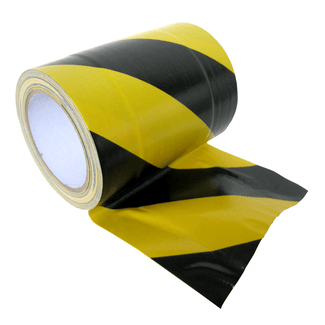 SquareTAPE cable-tunnel-tape yellow/black 150mm x 15m