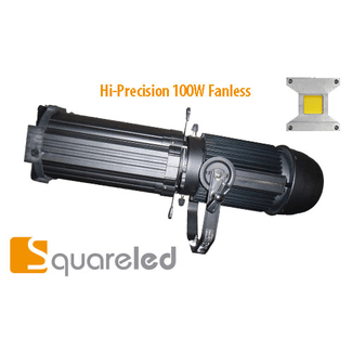 SquareLED Hi-Precision 100W Fanless 15°-30° 3200K