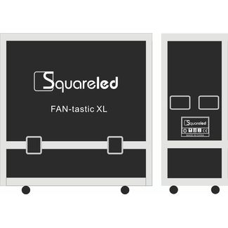 SquareLED double case for FAN-tastic XL