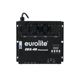 EUROLITE EDX-4R DMX RDM Dimmer pack 4-channel
