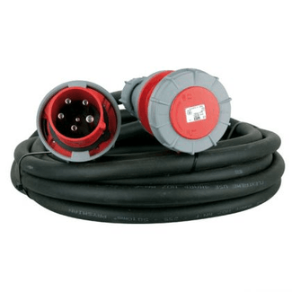 CEE cable 63A 5-pole, H07RN-F 5G16  length  3m