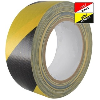 SquareTAPE Gaffer cloth tape for color coding yellow/black