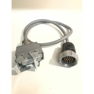 Adapter Socapex 19 male auf HB 16 female  1,0m