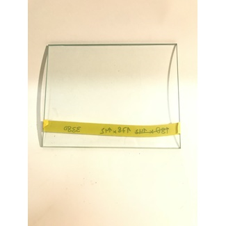 Safety glass 178x142x5mm