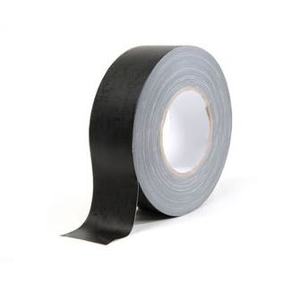 SquareTAPE Gaffer Tape matt black 50mm x 50m