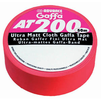 Advance Tapes AT 200 50mm x 50m red mat