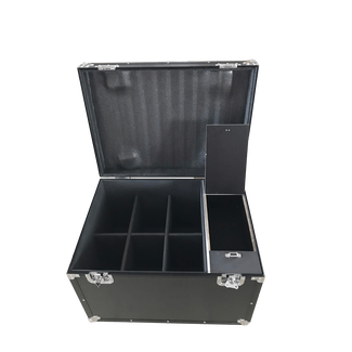 SquareLED 6-units Flightcase for Royal Flash Strobes