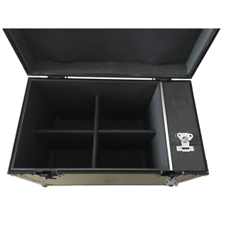 SquareLED 4-units Flightcase for Royal Flash Strobes