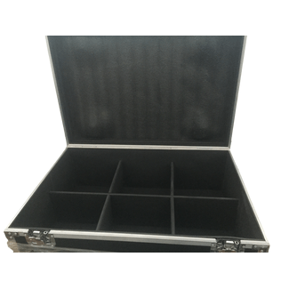 SquareLED 6-units flight case for Sputnik 150W COB multi effect Par Light