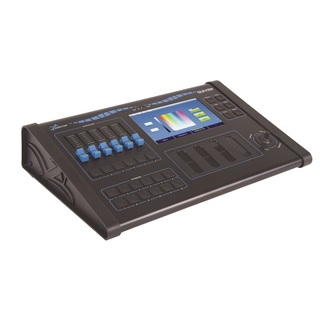 Sagitter Quiver lighting console 512 channels with Colour Display touch-screen TFT LCD 7""