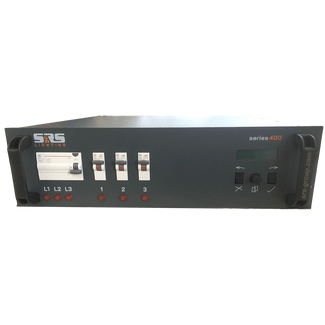 SRS DDP3050-8; 3U, 3x50A dimmer s400, 5 years guarantee