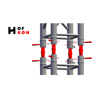 HOFKON - conical connectors | Eurotruss compatible