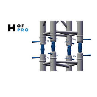 HOFPRO - conical connectors | Prolyte compatible