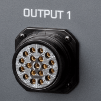 SRS extra charge for output connector 2 x Socapex