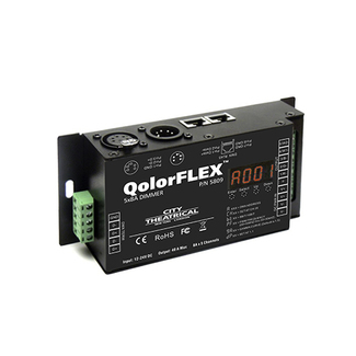 City Theatrical QolorFLEX 5x8A Dimmer