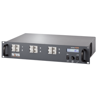 SRS DDPG610-8, 6x10A, DMX 3+5 pol, DIGITAL DIMMER WITH RCBO