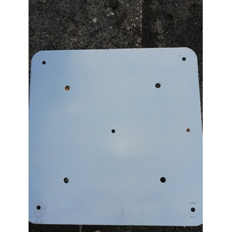 Global Truss Base Plate Steel 600x600x5mm for F22-F34