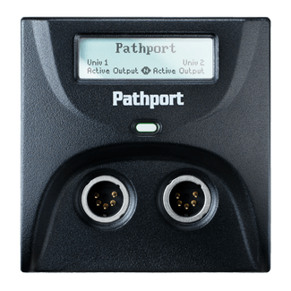 Pathway Pathport™ C-Series gateway with 1 DMX Input and 1 DMX Output