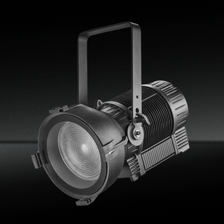 SquareLED Typhoon 300W RGBAL LED IP65 Fresnel Spotlight With Auto zoom
